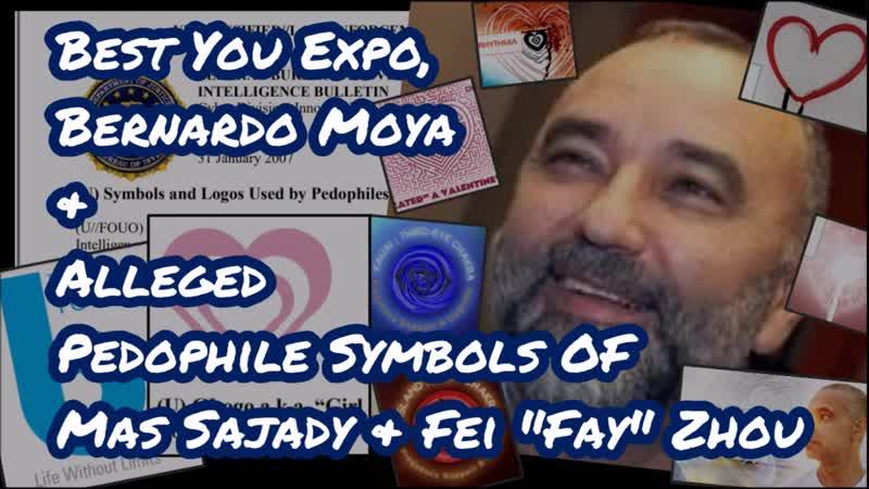 Best You Expo, Bernardo Moya, Alleged Pedophile Symbols of Mas Sajady Fei Zhou – III