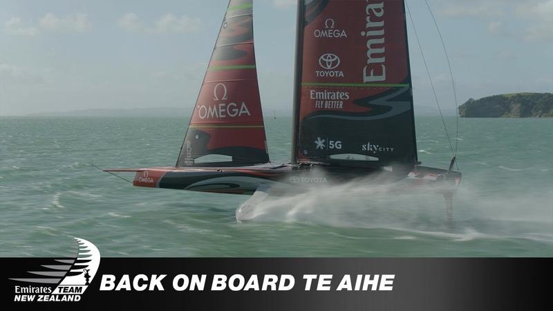 Back on Board Te Aihe