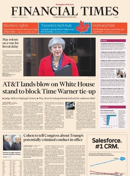Financial Times Europe - 27 02 2019