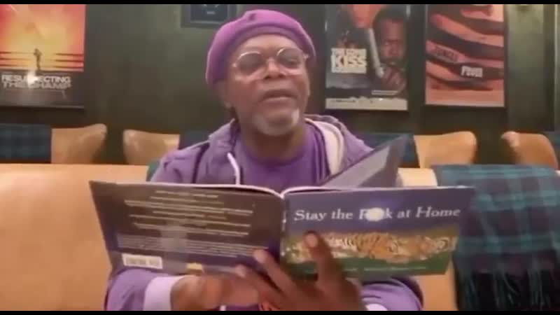 Samuel L Jackson Stay the Fuck at Home