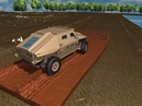 Sinusoidal steer ground vehicle maneuver in fine grained wet soil