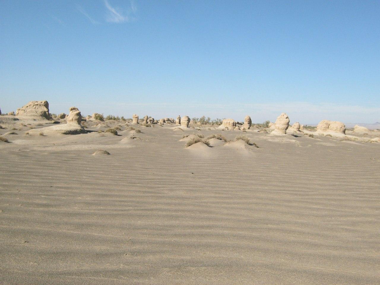 """песчаные структуры по типу """"Келут"""")"""