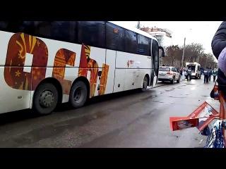 Олимпийский огонь  пр. Кирова  в