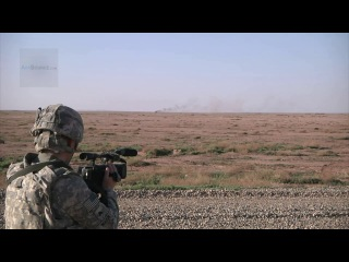 Bgm-71 tow missile- us soldiers conduct anti-tank training at iraqi army base