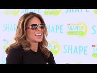 Jillian michaels at shape magazine summer shape up new dawn films