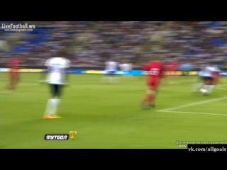 Чемпионат Европы-2015 (U21). Англия 1  - 0 Молдова. Гол Берахино. 05-09-2013