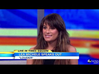 Lea michele 'music should be personal'