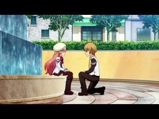 AniDub Seikoku no Dragonar   Академия Драконьих Наездников 02 Симбад, Holly