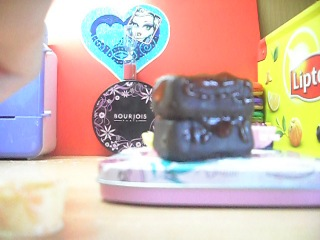 lps-Кулинария(готовим вместе шоколадно-клубнично-лимонный торт)