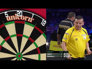 Adrian Lewis vs Dave Chisnall (Players Championship Finals 2014 / Round 1)