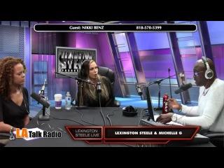 Nikki Benz - LA Talk Radio - Lexington Steel Live 10-20-14