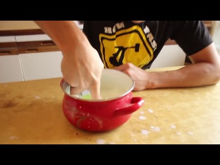 HFM (How Fast Make) - Костяк готовит Капучино.