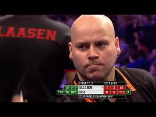 Jelle Klaasen vs Christian Kist (PDC World Darts Championship 2015 / Round 1)
