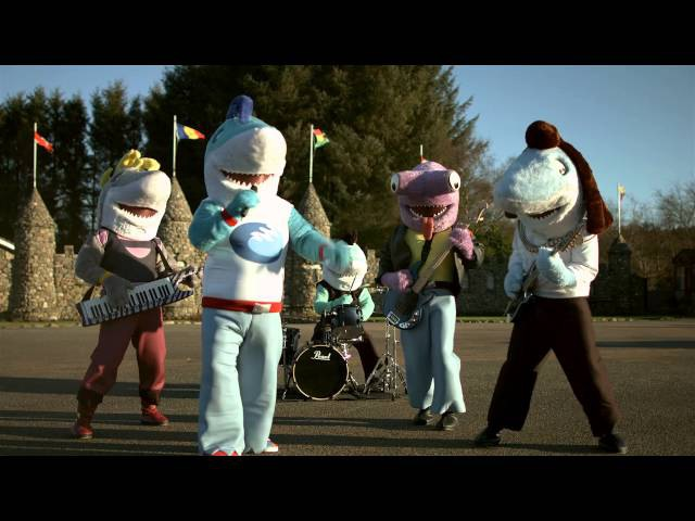 Sharky Sharky Bring The Rock Official Music Video