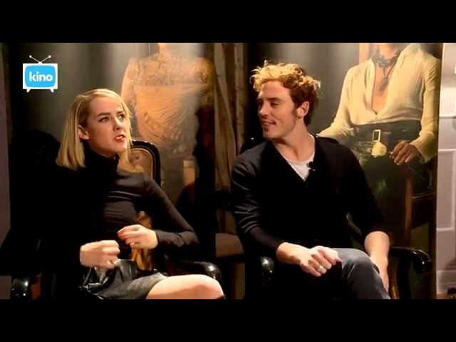 Kino TV Interview with Elizabeth Banks Sam Claflin and Jena Malone