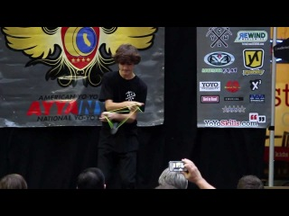 Cal States - 2nd Place - Zach Gormley (California State Yoyo Championship)