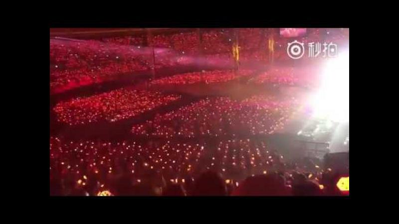 160722 EXO Monster EXO L FANCHANTS EXO rDium In Seoul