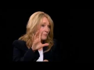 Joan Rowling -Charlie Rose