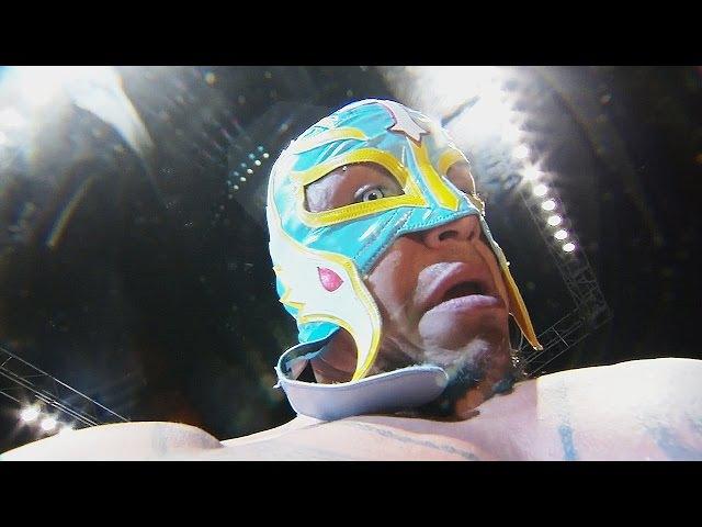 WWE/AAA Rey Mysterio Salute ft. KalistoWWE1 HD