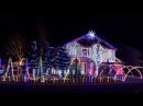 Cadger Dubstep Christmas Light Show 2015 THX Remix Intro