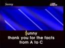 Sunny BONEY M Karaoké anglais collection BULLA_(360p).flv