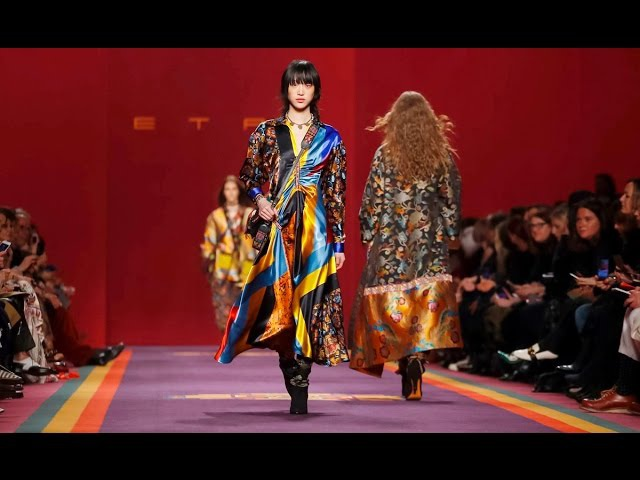 Etro   Fall Winter 20172018 Full Fashion Show   Exclusive