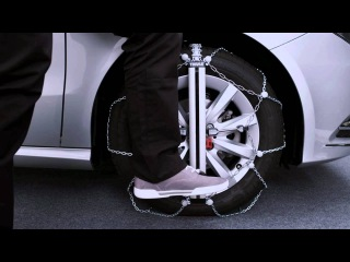Snow Chains - Thule Easy-fit Snow Chain