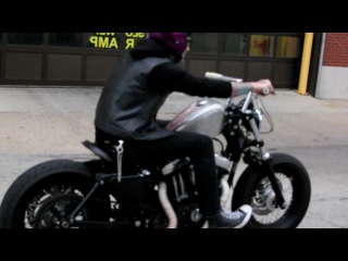 Suicide Harley Davidson Sportster 48 - Downtown Chicago