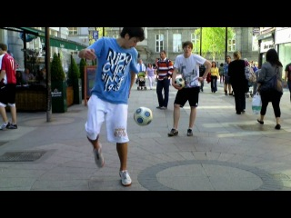 Irish Football Freestyle Meet 2011 Part.3 Ft Macca