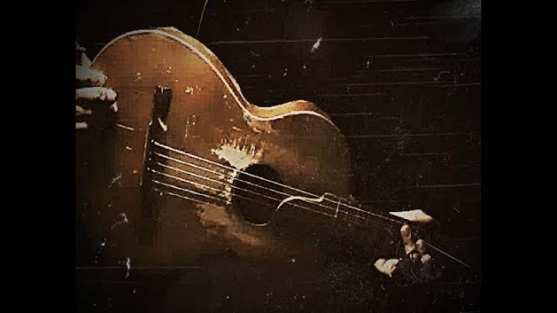 Krbi's Guitar - WAYFARING STRANGER (bottleneck guitar G tuning)