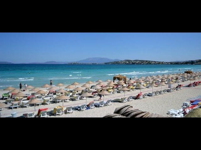 Лучшие пляжи Турции Чешмэ Пляж Ылыджа ILICA plaji IZMIR TURKEY