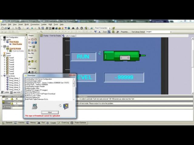 Unitronics удалённое подключение и webserver с помощью роутера RUH2b Radiofid по 3G Часть 2