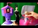 Барби, Малефисента, Челси и Рапунцель эдут на пикник в трейлере серия 49 Видео с куклами