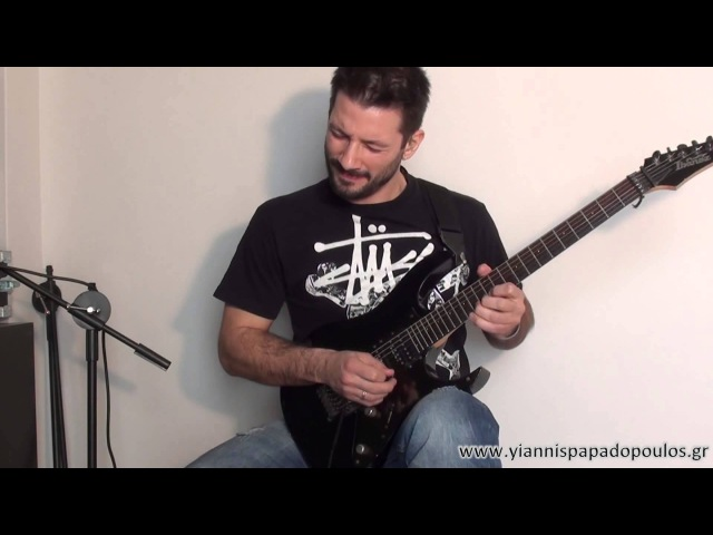 ╪★1st Place Winner★ Yiannis Papadopoulos • Ibanez Guitar Solo Competition 2013╪