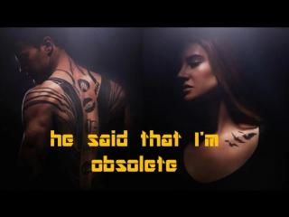 ASAP Rocky ft  Gesaffelstein  in distress lyric video