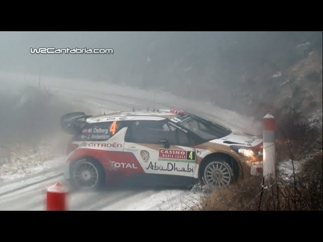 Best of WRC Montecarlo 2014 Drift Crash Maximum attack HD
