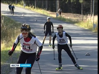 Чемпионат и первенство РК по лыжероллерному спорту в Петрозаводске