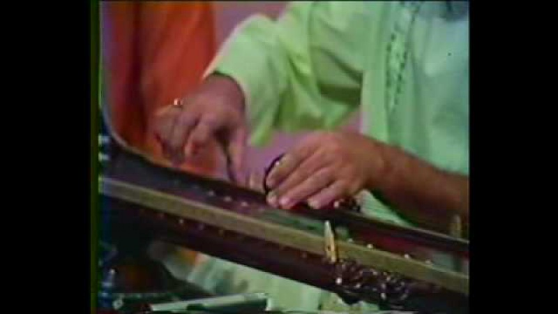 ₪ Pandit Lalmani Mishra on Vichitra Veena with Pandit Chotey Lal Mishra on Tabla Raga Tilang