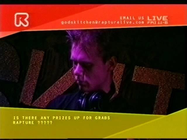 Ferry Corsten, Armin Van Buuren Judge Jules live @ Godskitchen - Birmingham 2001 - Rapture TV