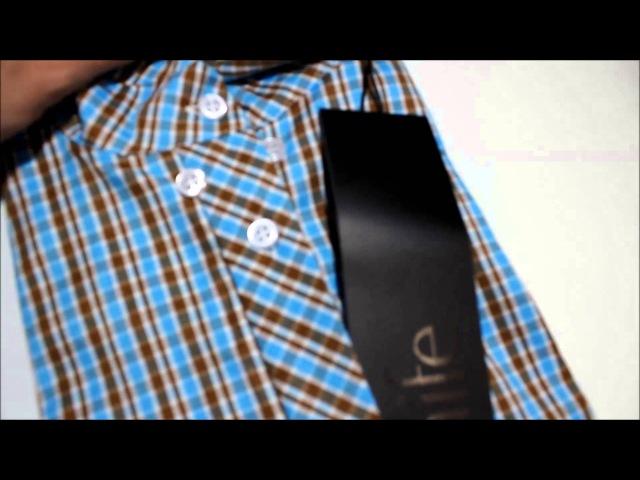 Рубашка Nife k37 kratka turkusowa