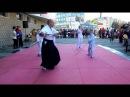 Детское айкидо Удары с дзё