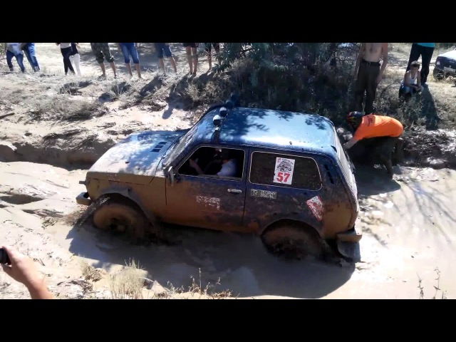 Volgograd NIVA. Джип спринт Ерзовский бой 2015 (Нива)