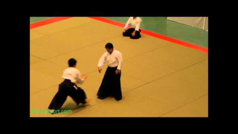 Kobayashi Yukimitsu Shihan - 49th All Japan Aikido 2011