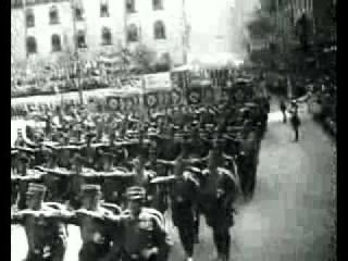 Парад NSDAP 1938 года в Нюрнберге(Германия) ,Адольф Гитлер.