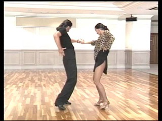 Donnie Burns basic steps - dance lessons in Los Angeles by ballroom dance instructor Oleg Astakhov