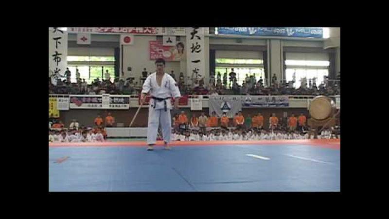 第15回全日本青少年空手道選手権開会式より