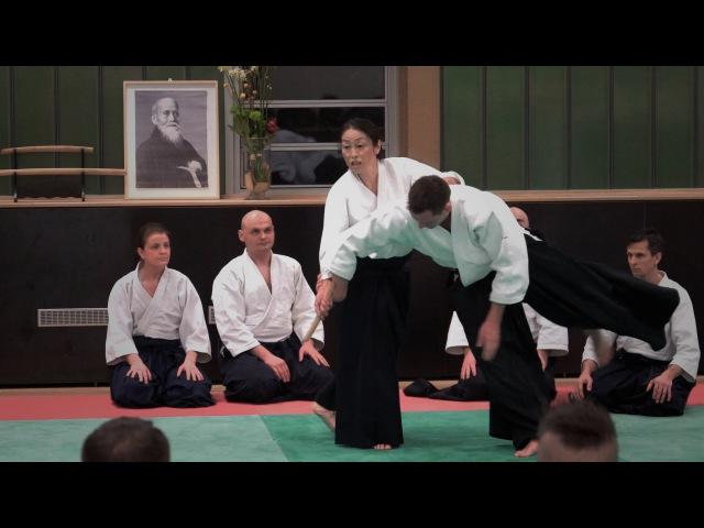 Aikido OKAMOTO Yoko Sensei Berlin 2015  Part 3