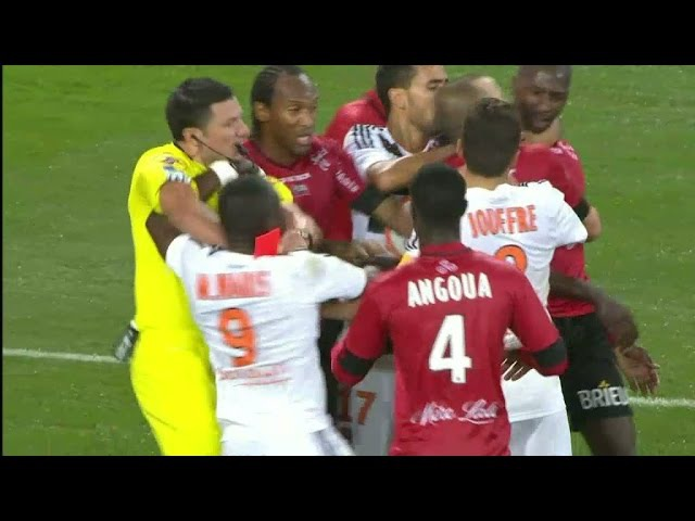Waris Majeed tappar det fullständigt galet rött kort TV4 Sport