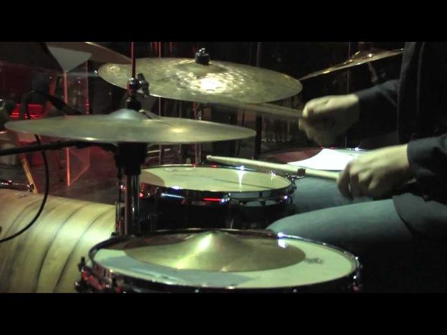 Live drum and bass with orchestra Alexander Zhemchuzhnikov - Beat! Beat! Drums!