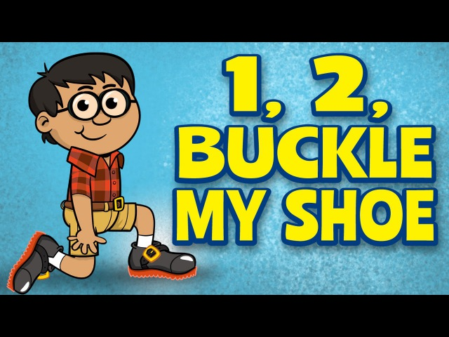 Counting Songs for children One Two Buckle My Shoe Kids Songs by The Learning Station